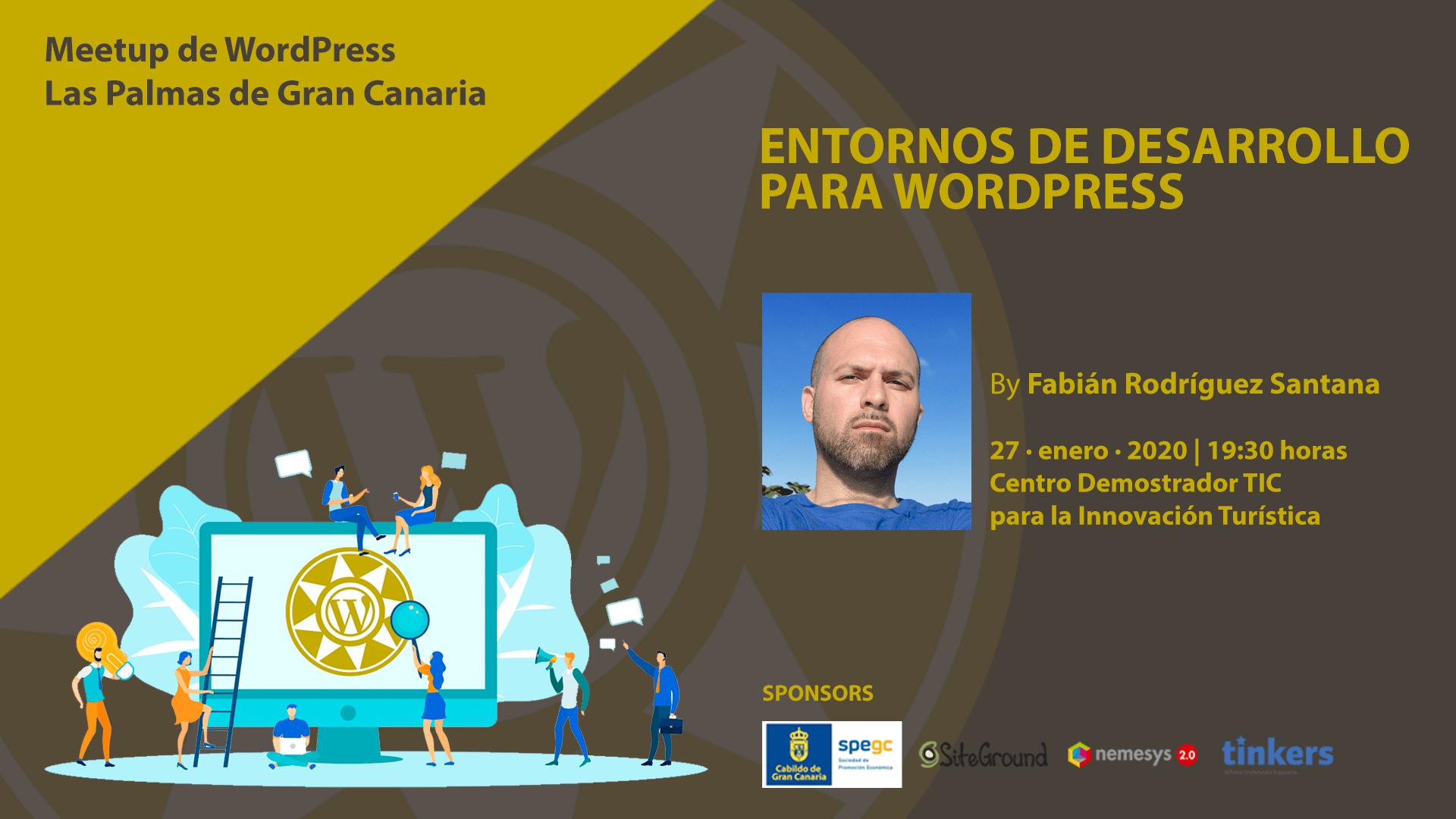 Cartela Meetup Fabián Rodríguez - Entornos de desarrollo