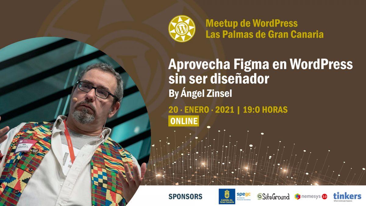 Cartela Meetup Ángel Zinsel sobre Figma