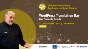 Cartela Meetup Fernando Tellado sobre el Translation Day