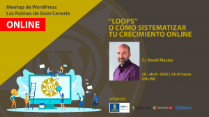 Cartela Meetup David Macías - LOOPS