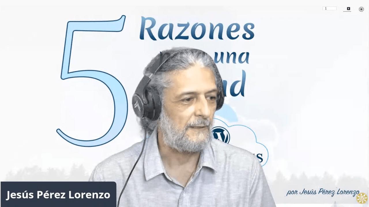 Meetup sobre 5 razones para una Cloud con WordPress con Jesús Pérez Lorenzo