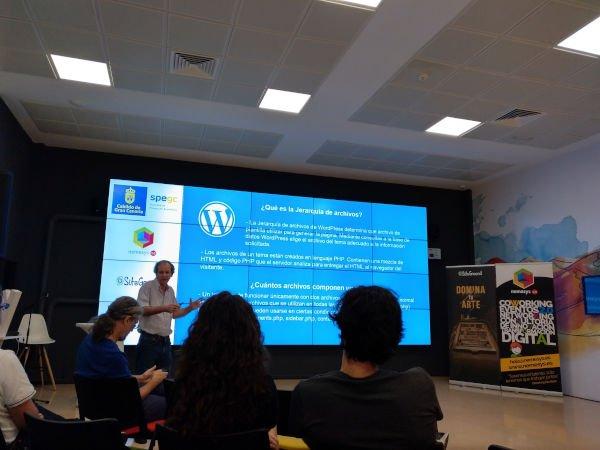 Meetup de Luis Santana sobre jerarquía de archivos