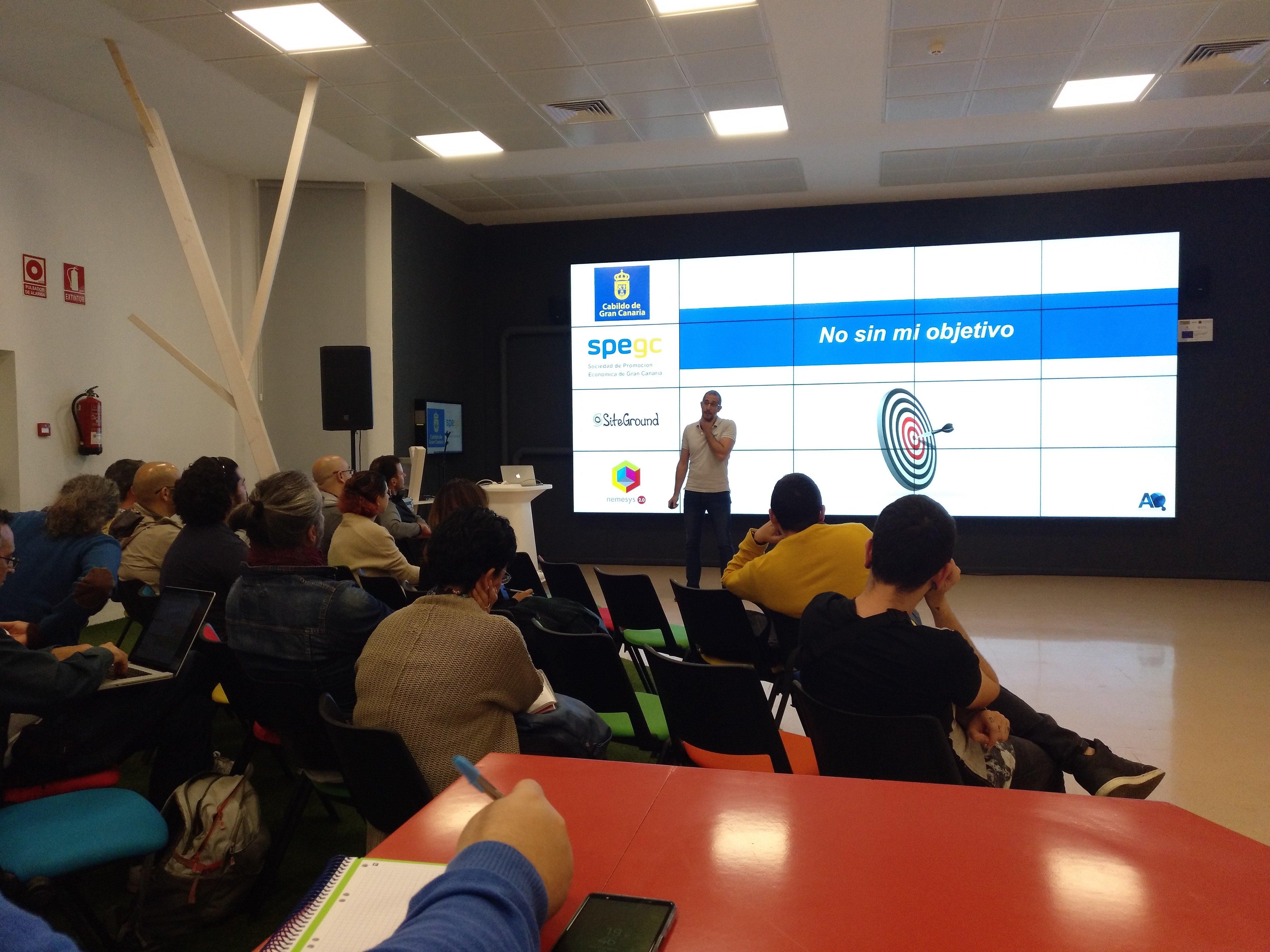 Meetup de Ángel Quintana sobre analítica web
