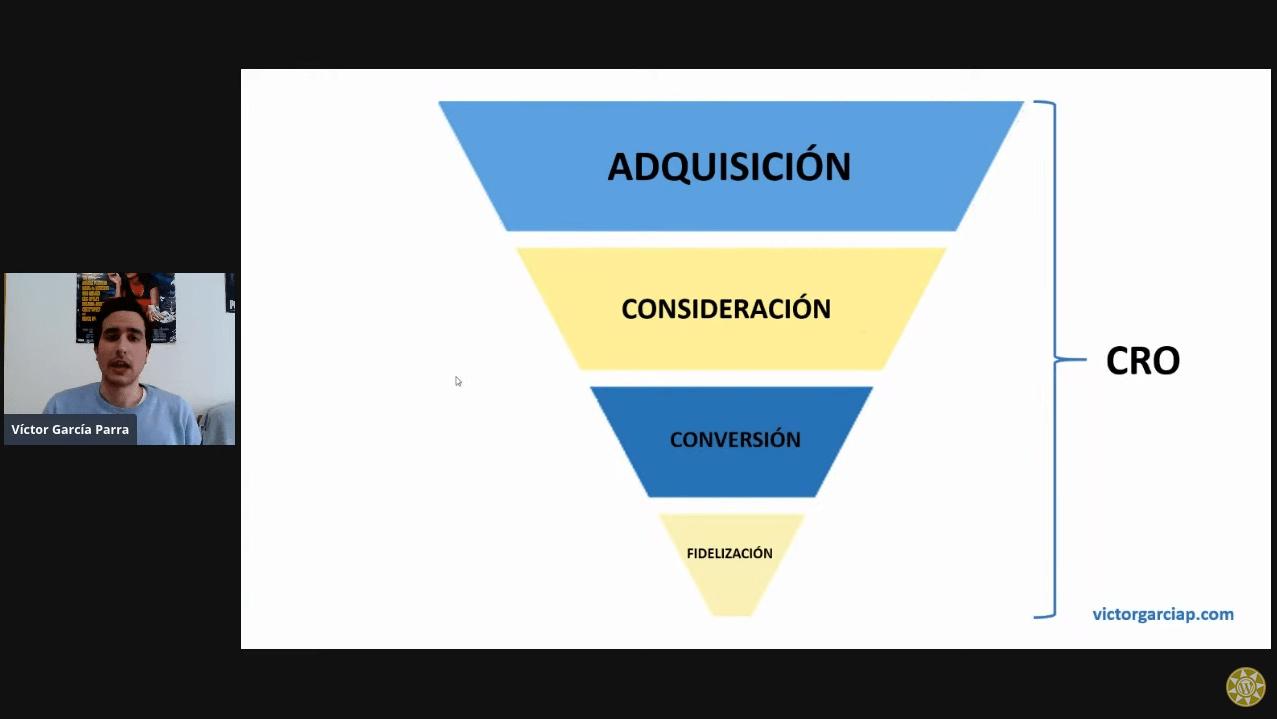 [Blog] Meetup sobre mejorar la tasa de conversión por Víctor García
