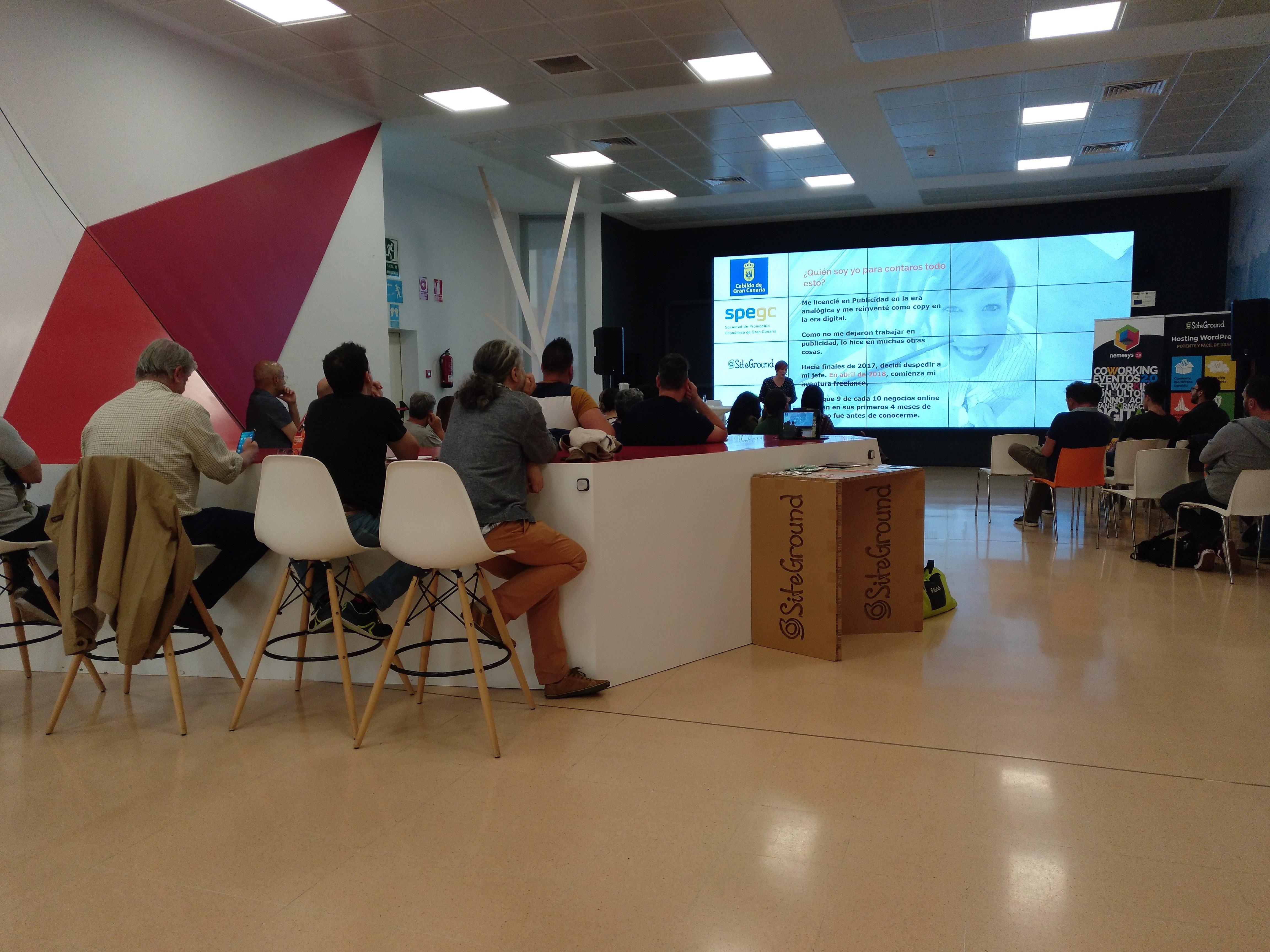 Meetup de Noelia Pacheco sobre copywriting